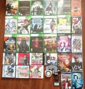35+ Games for Sale (XBOX360,PSP,PS2,PS1,NDS,3DS,GC,GBA)