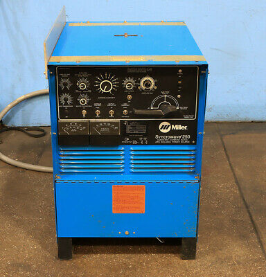 Miller Constant Current Acdc Welding Power Source Model Synchrowave 250