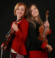 Violin duet for your special occasion
