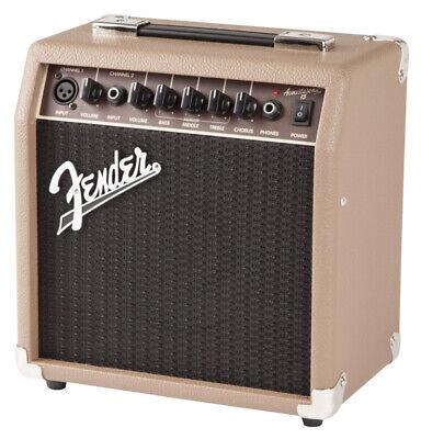 Fender Acoustasonic 15 Electro-Acoustic Guitar Combo Amplifier (NEW)