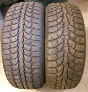 2- 205/55/16 winter tires --$35 for the pair