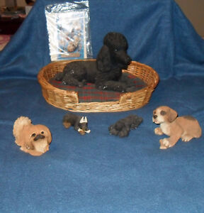 SANDICAST COLLECTIBLE DOGS