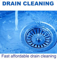 DRAIN CLEANING- affordable pricing call 780-667-4446