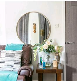 New Harbour housewares Round Accent Mirror 80cm