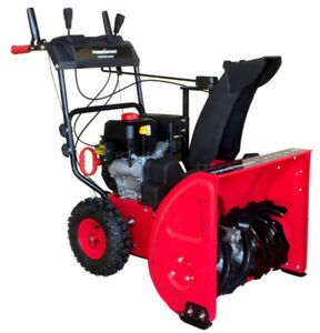 "Powersmart 24"" gas snowblower"