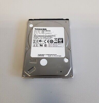 Toshiba 320GB SATA II 2,5 Zoll 5400RPM 8MB Notebook Laptop Festplatte MQ01ABD032 - 320 Gb 2.5