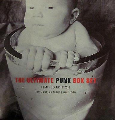 Various Punk(3CD Album)The Ultimate Punk Box Set-Receiver-RRBCD507-UK-New