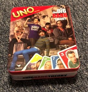 Big Bang theory uno card game