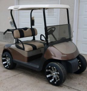 Custom EZ GO RXV Golf Cart