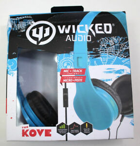 New!! Wicked Audio The Kove Headphones