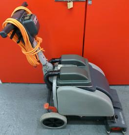 Numatic scrubber dryer garage workshop gym floor cleaning machine