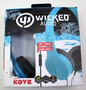 The Kove Wicked Audio Headphones - Mic & Track Control