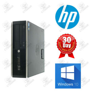 HP 6300 SFF i5 Quad Core 3.2GHz 4 or 8gb ram HDD or SSD desktop