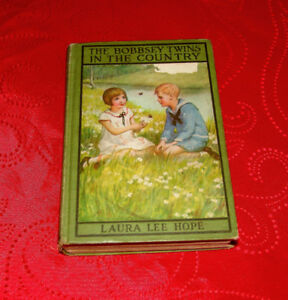 Vintage 1907 Hard Cover The Bobbsey Twins Book