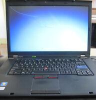 "Lenovo ThinkPad T520 15.6"" laptop Windows 7 Pro"