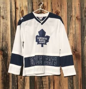 Classic NHL Hockey Toronto Maple Leafs Sewn Jersey.