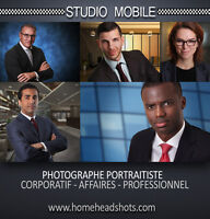Photographe pour portraits d'affaires / corporatifs