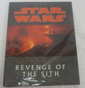 Star Wars Revenge of the Sith Art Hardcover Book