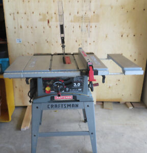 Craftsman 10 inch 3 hp Table Saw