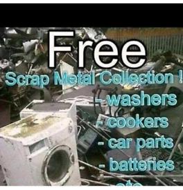 🛑🛑🛑free scrap metal wanted🛑🛑🛑