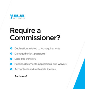 Commissioner for Oaths, Fort McMurray