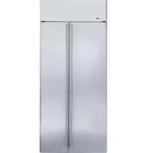 "Monogram ZISS360NXSS 36"" Side by Side Counter Depth Refrigerator"