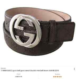 Real gucci belt mint condition