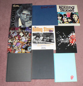 THE ROLLING STONES - LIVRES