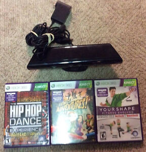 Kinect with 3 Games!!