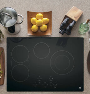 GE 30 IN. BLACK ELECTRIC COOKTOP WITH 5 ELEMENTS - JP5030DJBB