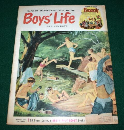 VINTAGE BOY SCOUT- 1953 BOYS