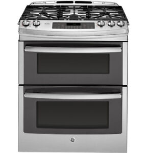 """Ge profile Gas Stove 30"""" Stainless Steel Double Oven $1499"""
