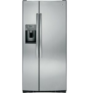 GE Side by Side Fridge with water dispenser