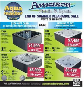 ***AMAZON POOLS & SPAS - END OF SUMMER CLEARANCE SALE**