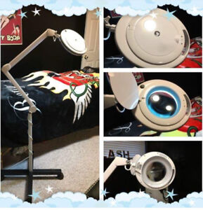 Ring Light With Magnify Lens With Stand