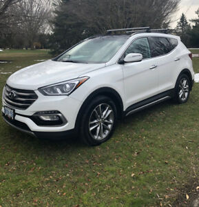 2017 Sante Fe 2.0T AWD Limited,  EXT. WARR 10Y/200KM, PanoRoof