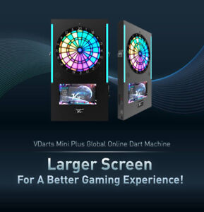 VDarts Mini Plus Global Online Dart Machine