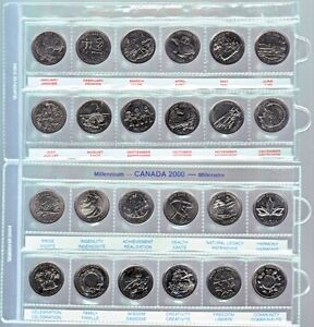 2 X 2 Coin holders $5.00 per 100, Pages $0.50 each Windsor Region Ontario image 4