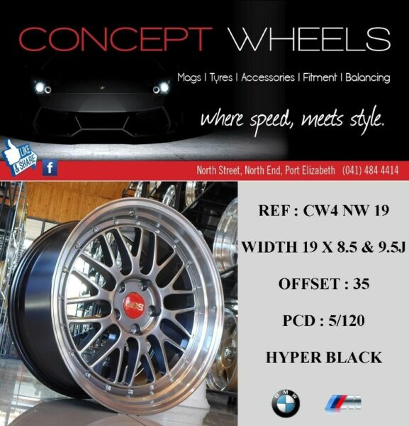 "Mercedes Benz Classic Cars For Sale South Africa: CONCEPT WHEELS NEW 19"" RIMS AVAILABLE FOR GOLF 5/6/7 GTI"