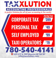 ACCOUNTANT/ACCOUNTING/BOOKKEEPING/CORPORATE TAX/PERSONAL TAX
