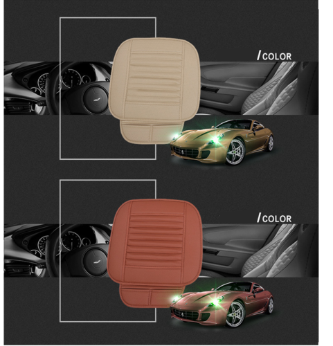 3d Universal Car Seat Cover Breathable Pu Leather Pad Mat