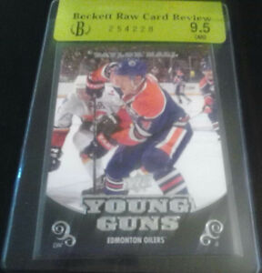 2010/11 UPPER DECK TAYLOR HALL RC YOUNG GUNS BGS 9.5 $100