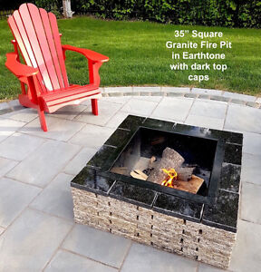 Amazing Granite Fire pits! Stratford Kitchener Area image 2