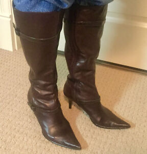 Kenneth Cole Brown Dress Boots