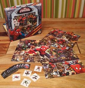 Jouet et livre de Spiderman, Batman...