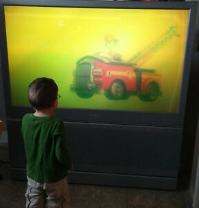 """1080P High Definition rear projection 60"""""""