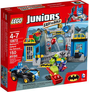 LEGO JUNIORS SUPER HEROES BATMAN: Defend the Batcave #10672