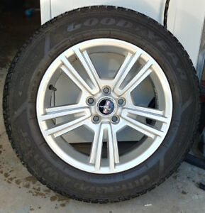 ford mags Mustang  pneus   215-65-17 d'hiver/winterBolt pattern