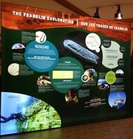 The Franklin Exploration Pop-Up Exhibit