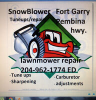 Snowblower Repair's and tuneups